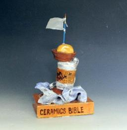 Class: Ceramics for Non-art Majors. Project: Trophy.
