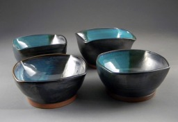 Class: Ceramics for Non-art Majors. Project: Conceptual Bowl Sets