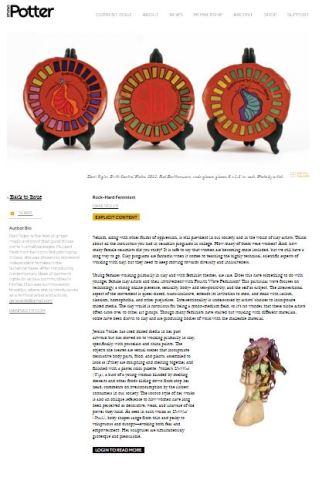 studio potter article